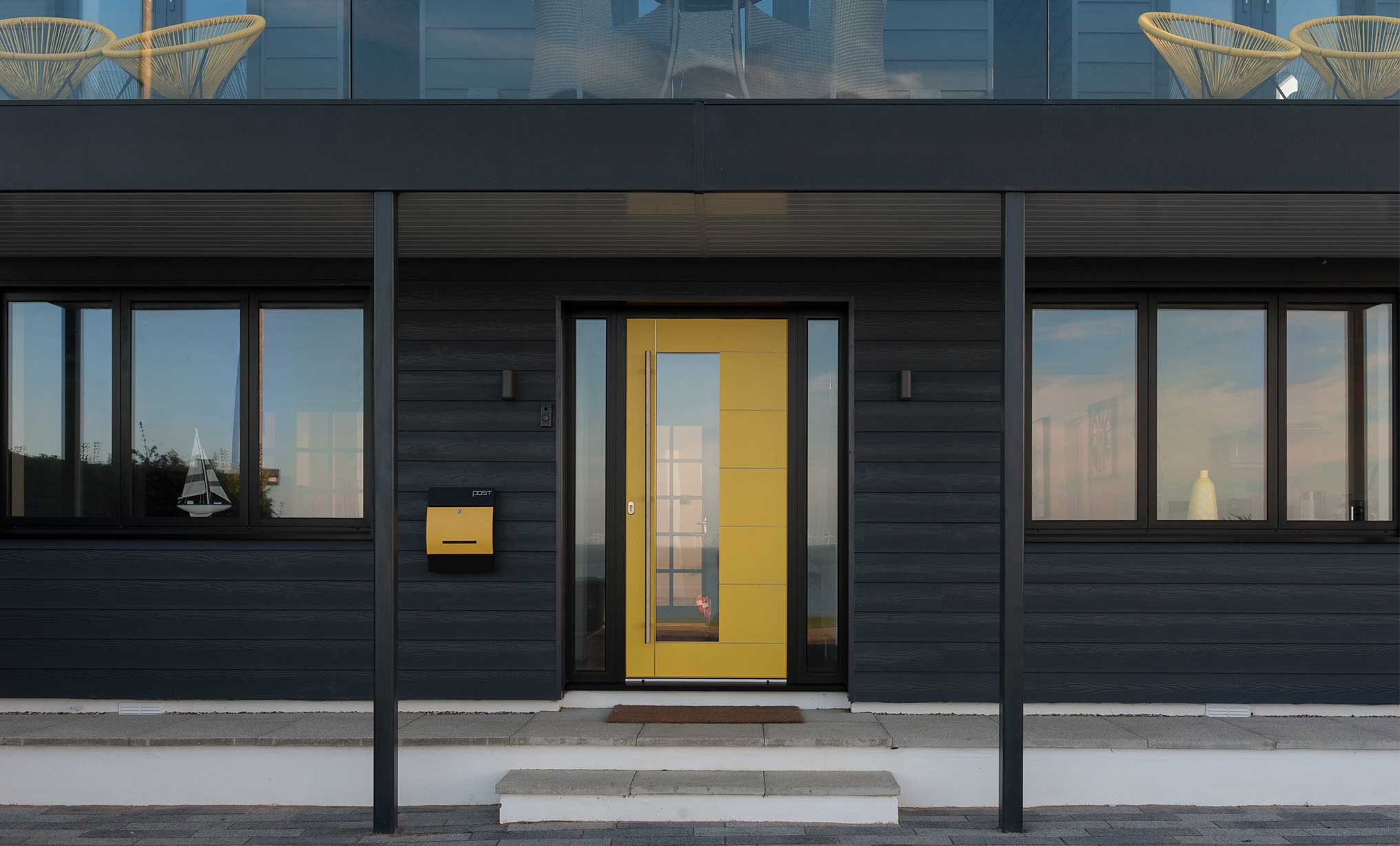 Blink Architecture - Marine Parade front door